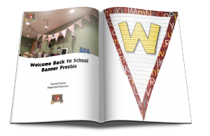 Want your own Back-To-School Welcome Banner?