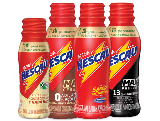 COMER & BEBER: Em mais um passo de sua jornada de sustentabilidade, NESCAU® retira tampinhas de todo o portfólio pet da marca