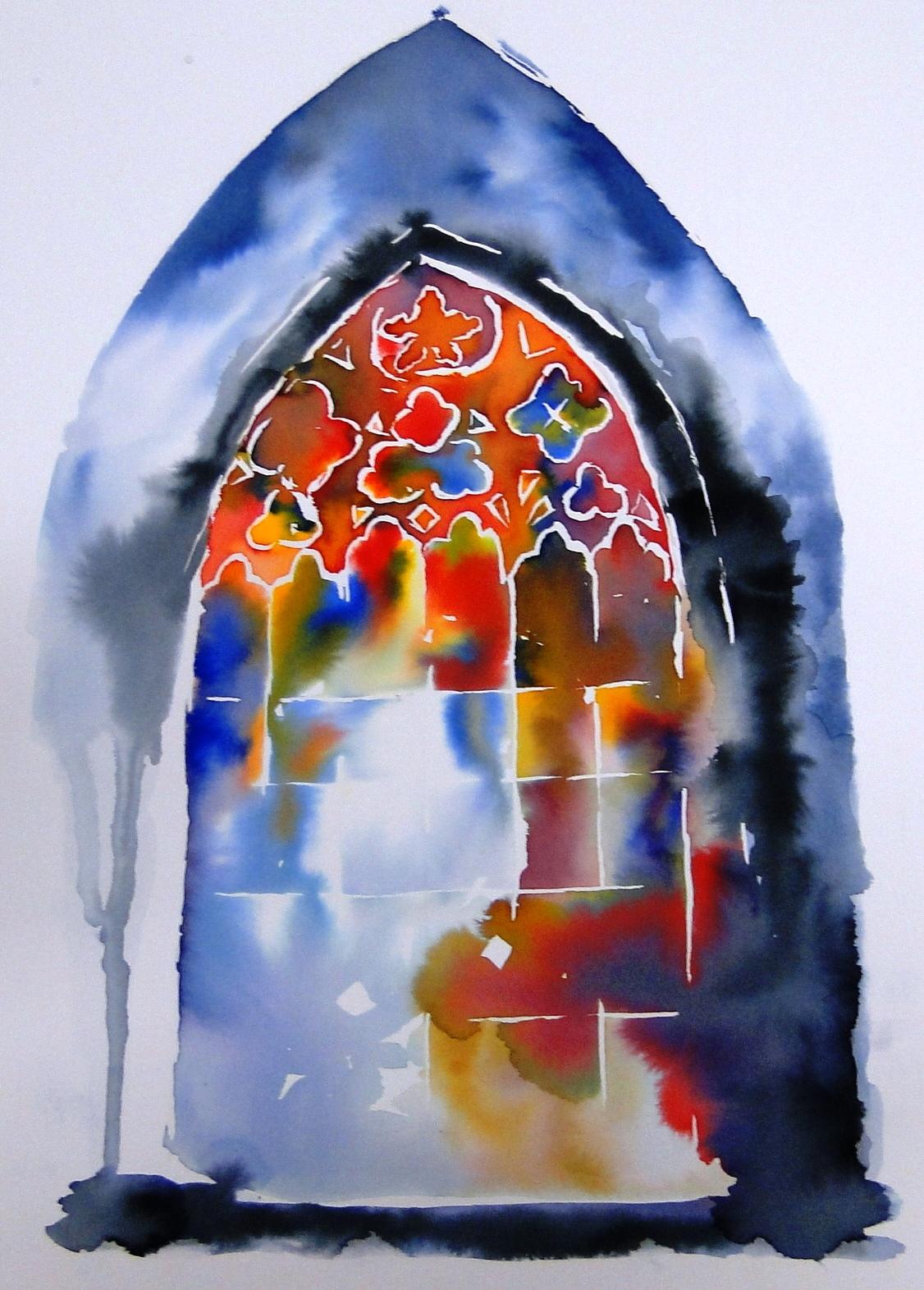 dfb0afaddc995 MUSEU DE ARTE SACRA EXPÕE AQUARELAS COM TEMAS RELIGIOSOS