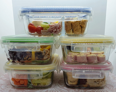 5 Healthy Make Ahead Meal Prep Lunches & Shopping Lists slimming world