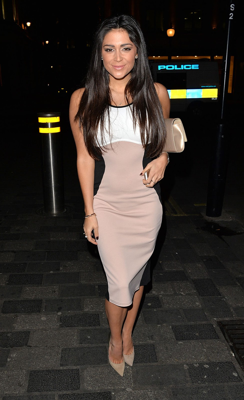 Full HQ Photos of Casey Batchelor Night Out In Mayfair