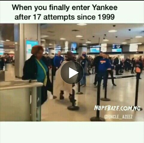 VIDEO: When You Finally Enter Yankee After 17 Attempts Since 1999 (Funny Comedy)