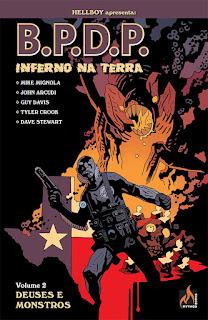 Capa da HQ B.P.D.P Inferno na Terra Vol. 2