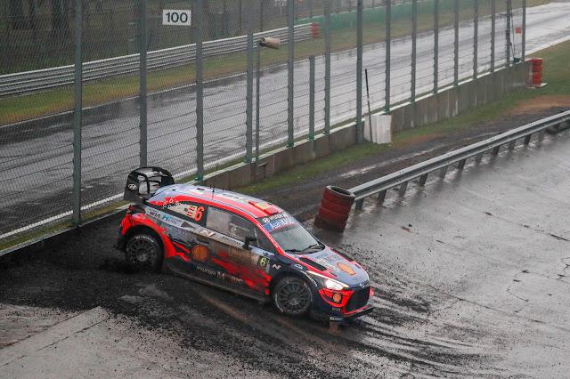 Dani Sordo on Rally Monza