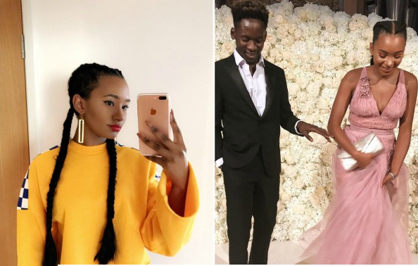 Eazi Defends Girlfriend Temi Otedola's 'Multicolored' Hand