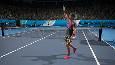 لعبة التنس AO TENNIS 2  للكمبيوتر