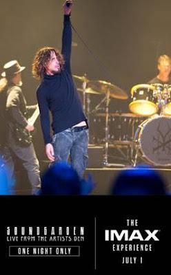 Fã dos Soundgarden? Concerto da Mítica Banda do Talentoso Mas Malogrado Chris Cornell Será Exibido em IMAX em Julho em Portugal!