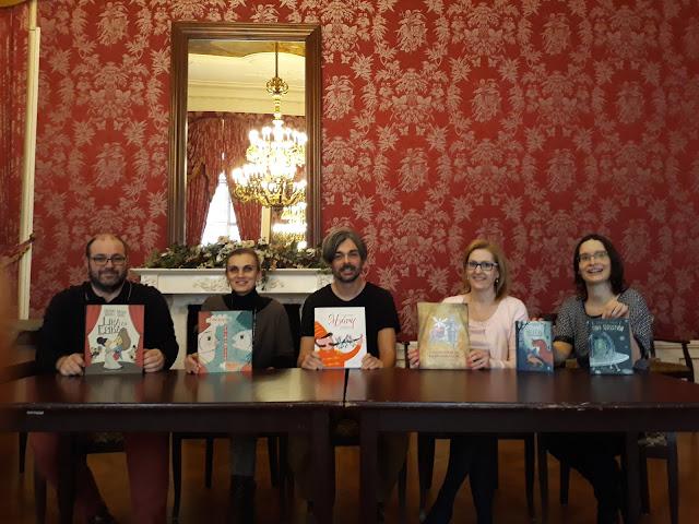 Az Év Gyerekkönyve díjak jelöltjei