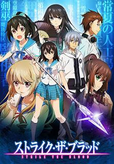 Download Strike the Blood BD Subtitle Indonesia Batch Episode 1 – 24 + OVA