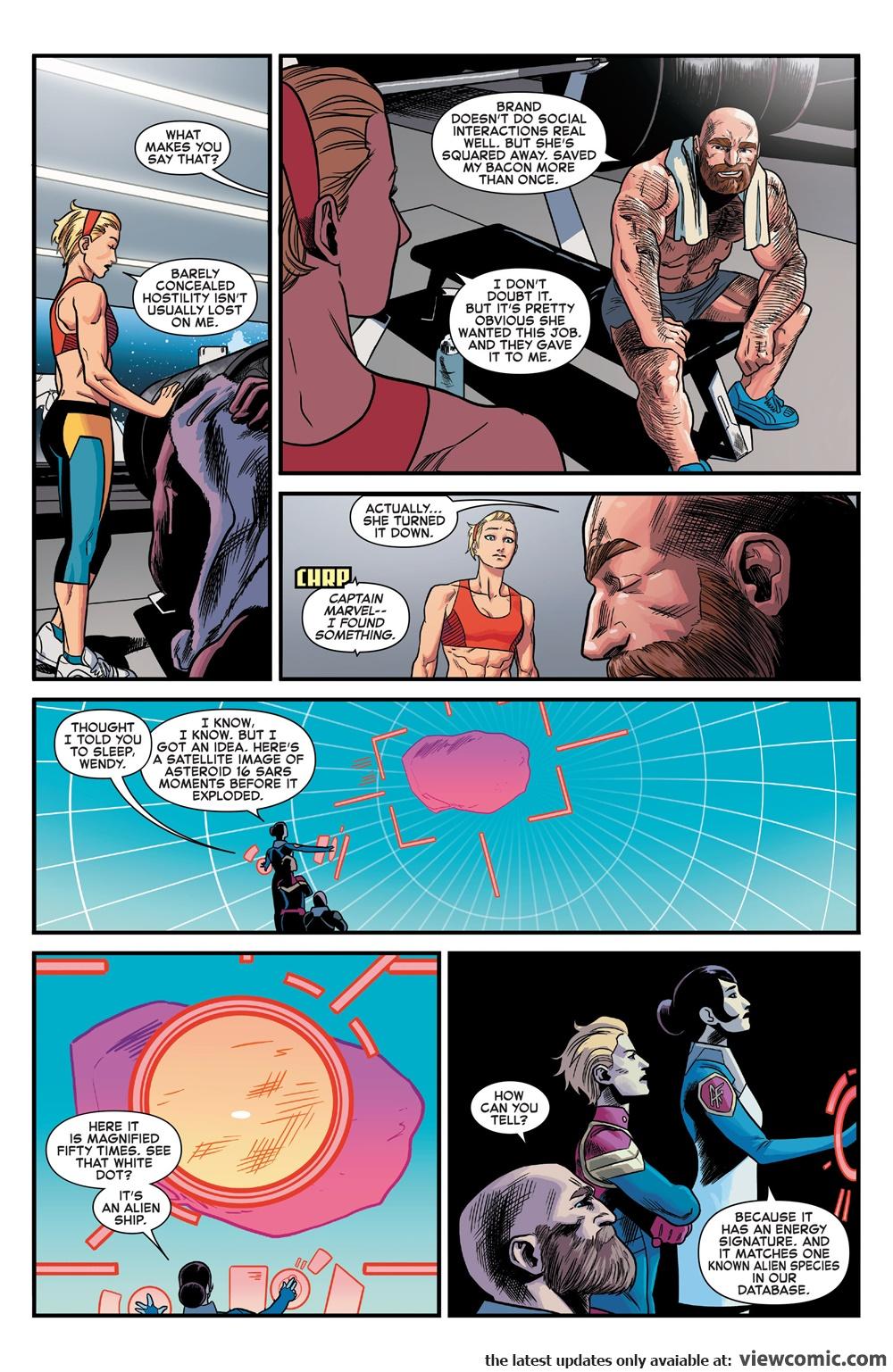 Captain Marvel v9 001 (2016) … … … … … …  | Reading Comics