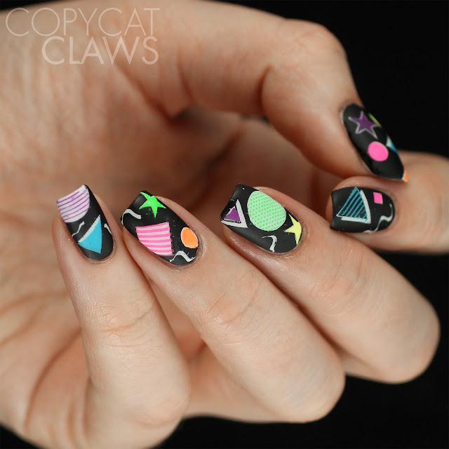 80's Nail Art
