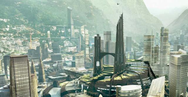 Imágenes de paisajes que veremos en Black Panther
