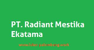 Lowngan Kerja di PT. Radiant Mestika Ekatama, April 2016