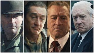 El proceso de edad de Robert De Niro en la película El irlandés