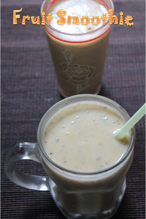 Low Fat Fruit Smoothie 16