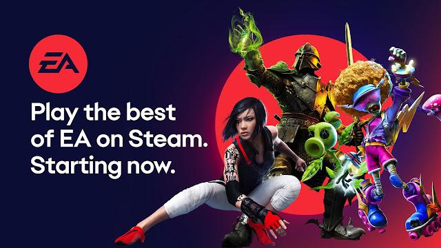 Electronic Arts revine pe Steam