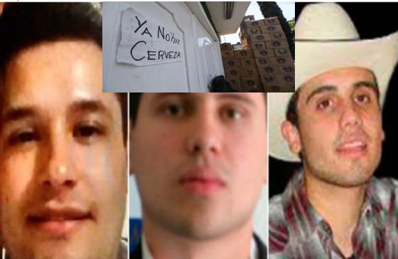 """""""¿Ya se supieron la nueva de los Chapitos? Así es como imponen la Ley los hijos de El Chapo Guzman en Sinaloa, del toque de queda a condicionar la venta de Cerveza"""