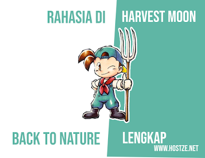 Rahasia - Rahasia di Harvestmoon Back To nature Lengkap - hostze.net