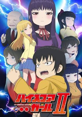 Ilustração Promocional Hi Score Girl Segunda temporada