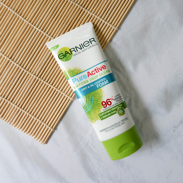 garnier-matcha-facial-foam-review