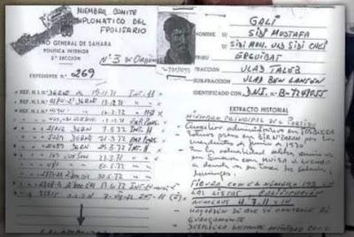 خطير وفاضح ،المدعو إبراهيم غالي زعيم البوليساريو كان عميلا لاسبانيا