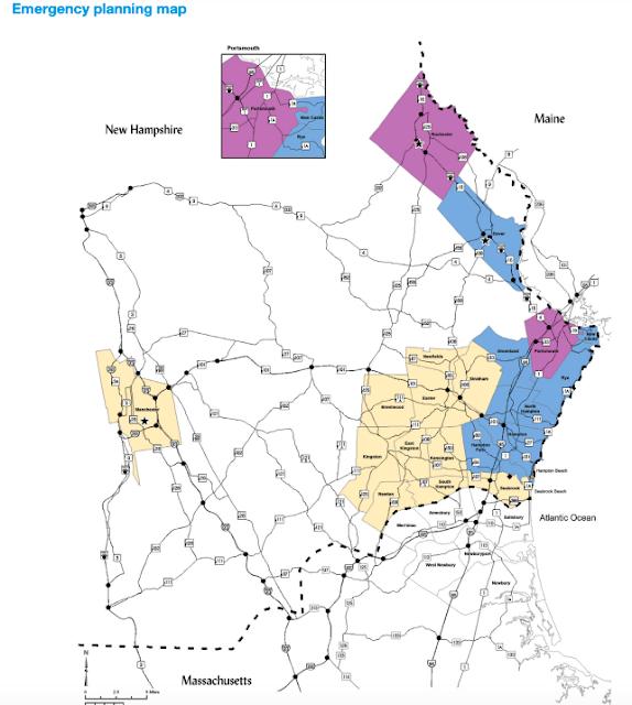 Mapa de Planificación de Emergencia de New Hampshire