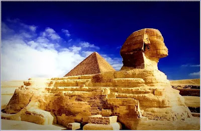 The Sphinx - The famous ancient Egyptian sculpture
