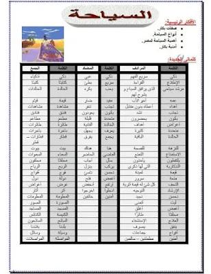ملزمة عربي رابعة إبتدائي ترم أول  لعام 2022