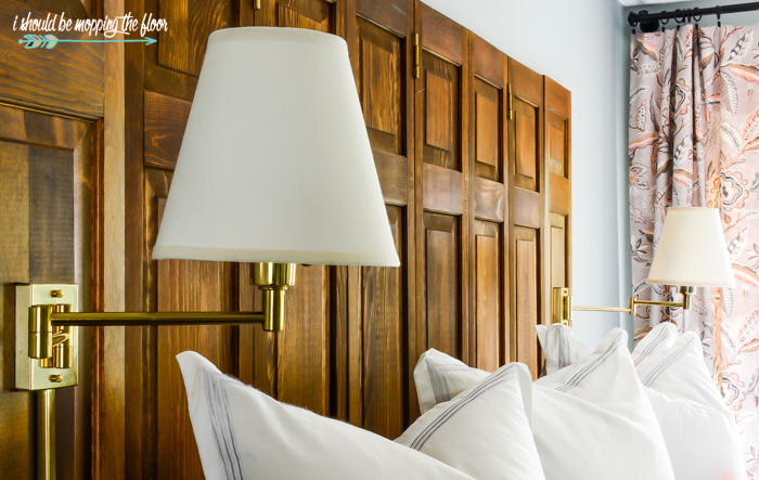 Brass Bed Sconces