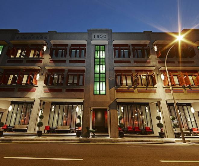Hotel Vagabond Singapore facade