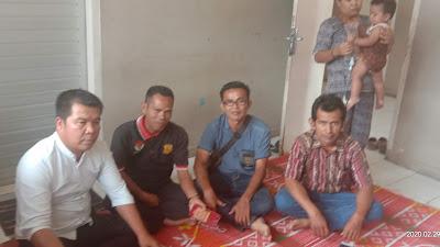 Ketua DPD KPK TIPIKOR beserta DPC LSM LAKI Bezuk Anak LSM Cakrawala Di RS MH Thalib Kerinci