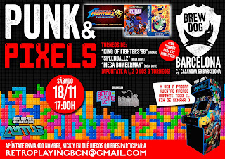 evento retro punk & pixels