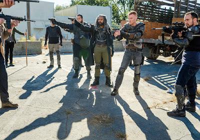 Jerry (Cooper Andrews), Ezekiel (Khary Payton), Daniel (Daniel Newman) ed Alvaro (Carlos Navarro) nell'episodio 13