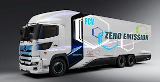 Toyota - Hino Sepakat Bikin Heavy Duty Truck Berbahan Bakar Hidrogen
