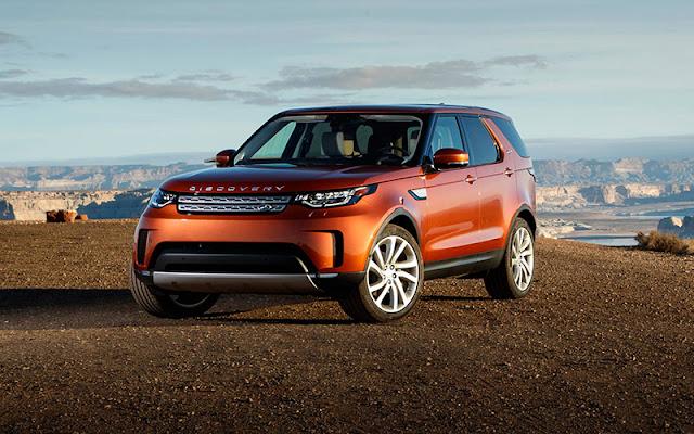 Land Rover Discovery có nhiều thay đổi trong thiết kế đầu xe