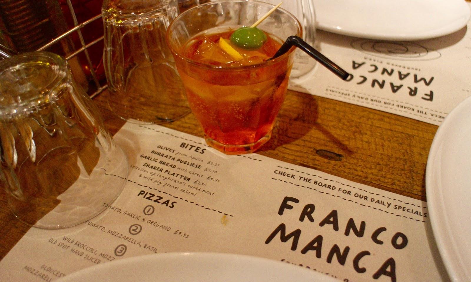 Franco Manca Westquay Watermark