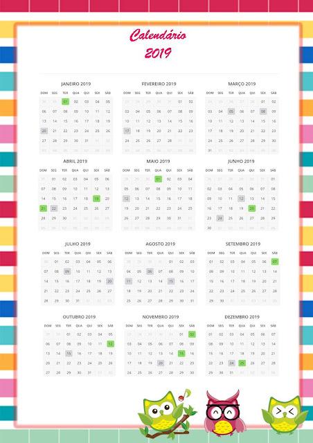 Caderno de Planejamento Corujinhas para Download
