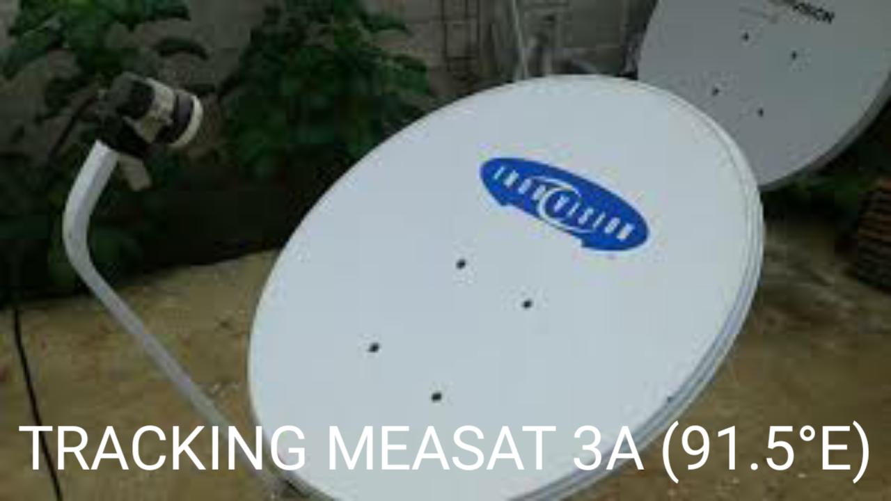Cara Tracking Measat 3A (91.5°E) Ku-Band