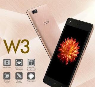 Tecno W3 LTE Picture