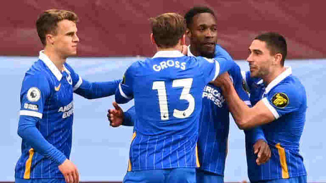 Danny Welbeck helped Brighton & Hove Albion winning a crucial game