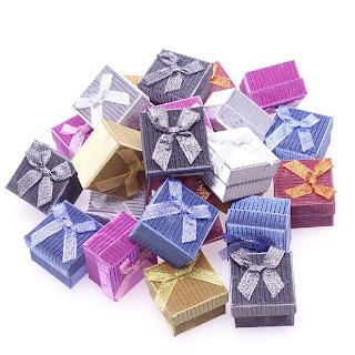 """Подарочная коробочка для ювелирных изделий и бижутерии, под кольцо, бумажная """"Ажурная"""" box1"""