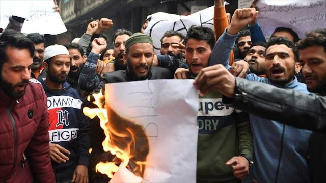 Polémica ley contra musulmanes enciende protestas en La India