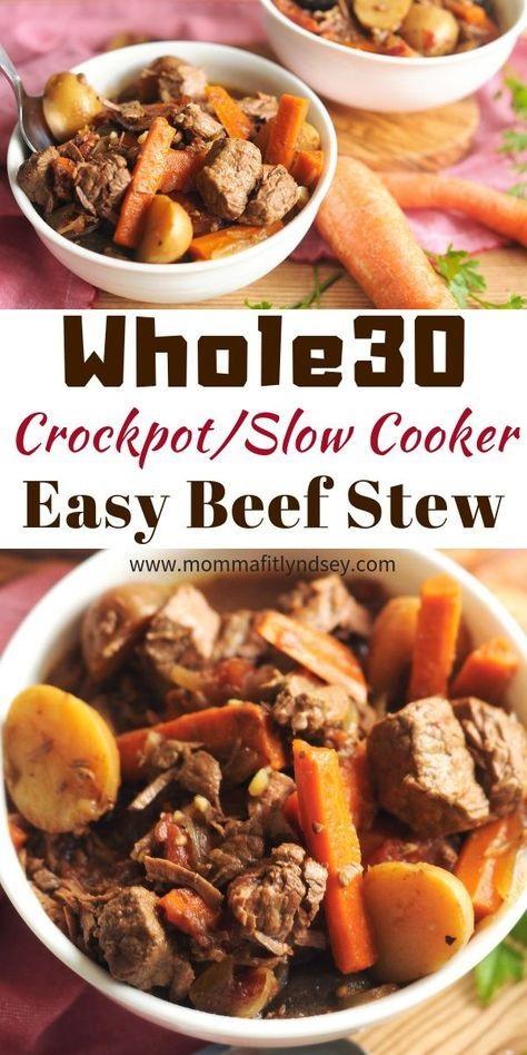 Whole30 Crockpot Beef Stew