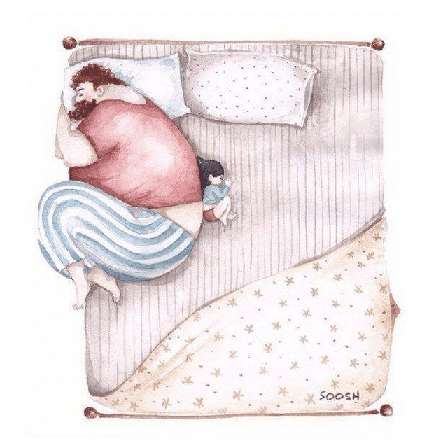 Heartwarming Illustrations Of Dads Demonstrate How Important Their Role Is