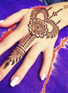 Easy Arabic Mehndi Henna Designs
