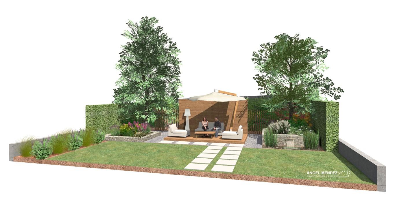 Diseño de jardines, estudios de paisajismo, proyectos de jardines, diseño chill-out, paisajistas en España, paisajistas en Huesca, ideas para jardines, proyectos jardines pequeños