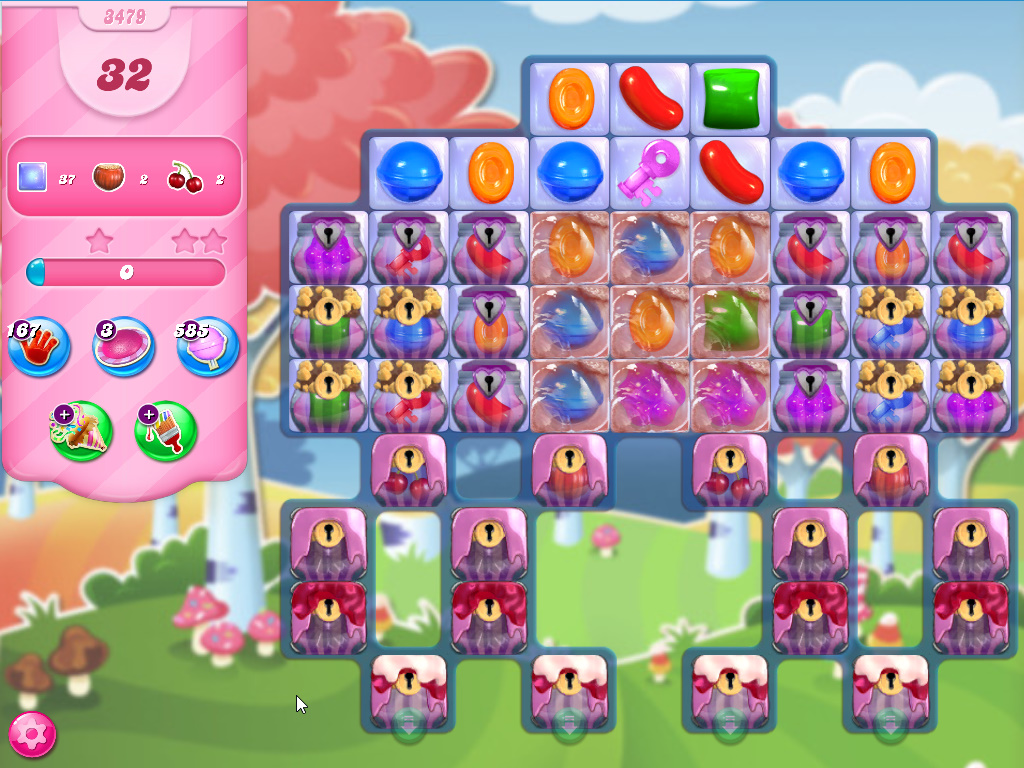 Candy Crush Saga level 3479