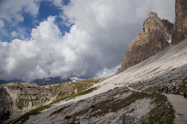 Rundtour Drei Zinnen - Dreizinnenhütte  Wanderung Sextner Dolomiten  Wandern Südtirol  Tourenbericht Tre Cime di Lavaredo  GPS-Track 05