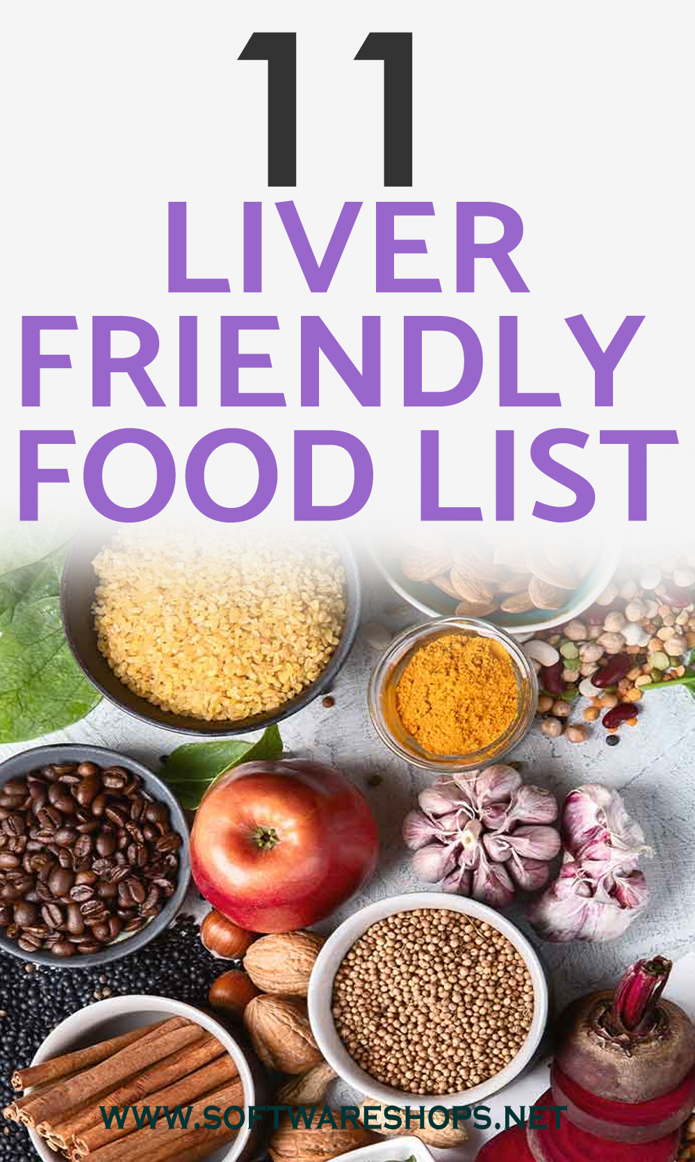11 liver friendly food list