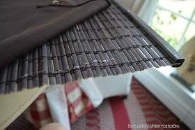 Diy Privacy Liner For Bamboo Roman Shades Exquisitely